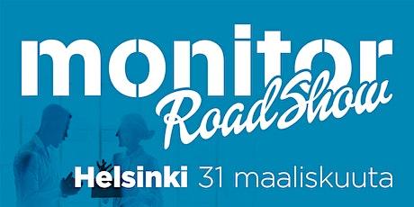 Monitor Roadshow Finland Helsinki 2021 tickets