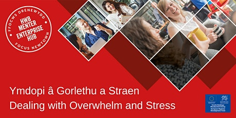 Dealing with Overwhelm and Stress | Ymdopi â Gorlethu a Straen tickets