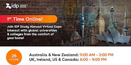 IDP Study Abroad Virtual Expo in Iran! tickets