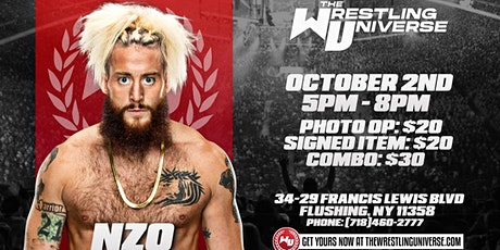FKA WWE Enzo amore Virtual & In-Store Meet & Greet The Wrestling Universe tickets