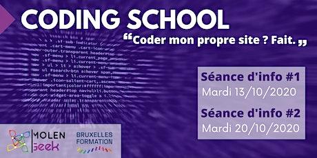"""CODING SCHOOL 16 [Séance d'info] """"Le Meilleur moyen apprendre le code"""" tickets"""