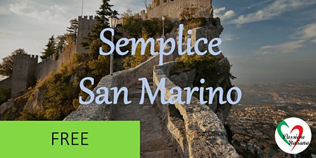 Virtual Tour of Italian Cities - Semplice San Marino tickets