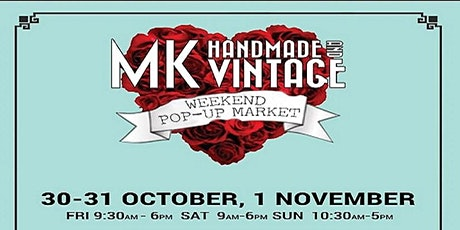 MK Handmade & Vintage Winter Pop-Up Market tickets