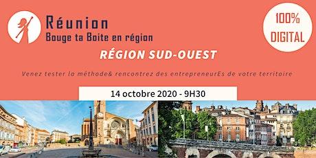 Région Sud-Ouest - Venez vivre la méthode Bouge ta Boite en digital ! tickets