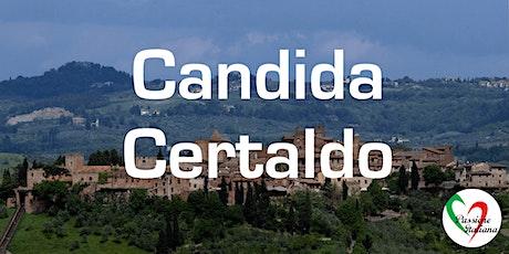 Virtual Tour of Italian Cities - Candida Certaldo tickets