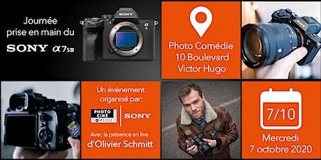 Sony A7S III: Prise en main et live avec Olivier Schmitt billets