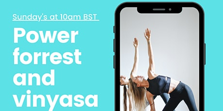 Power/forrest and vinyasa flow Yoga (Intermediate) tickets