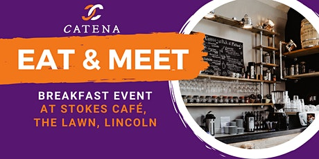 Eat & Meet Business Breakfast at Stokes Cafe tickets