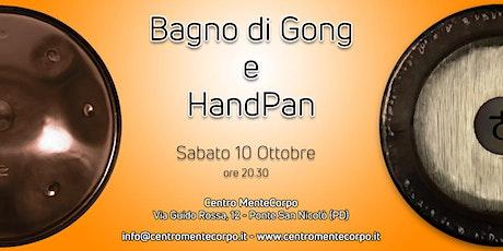 Bagno di Gong e HandPan biglietti
