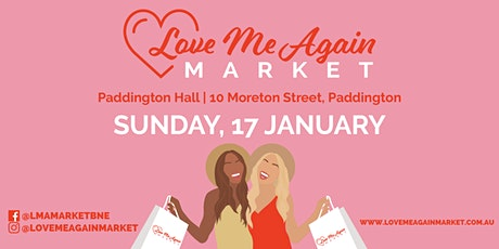 Love Me Again Pre-Loved Fashion Market - January tickets