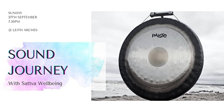 Sound journey with Sattva Wellbeing - relax, replenish, restore tickets