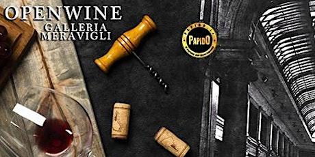 OPEN WINE in Galleria Meravigli per la Wine Week Milano  - ✆ 3332434799 biglietti