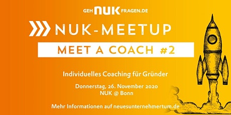 Meet a coach #2 | NUK-Meetup Tickets