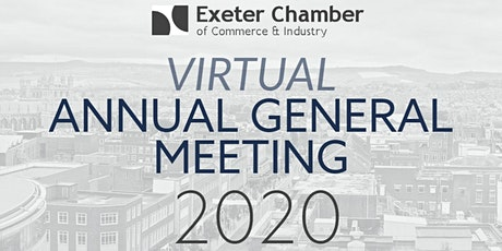 Exeter Chamber of Commerce AGM 2020 tickets
