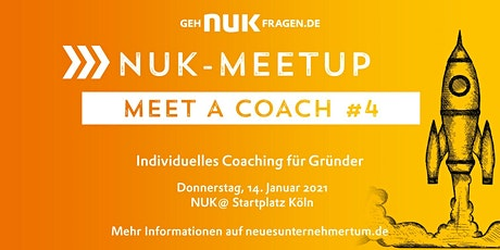 Meet a coach #4 | NUK-Meetup Tickets