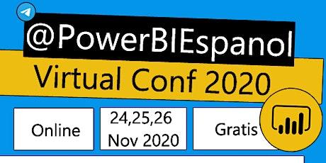 @PowerBIEspanol Virtual Conf 2020 entradas