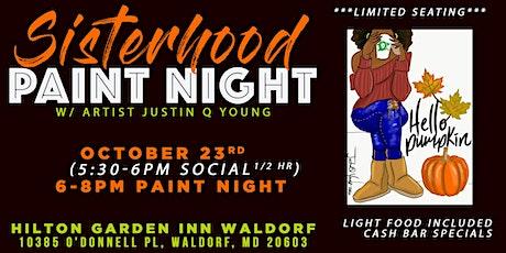 Sisterhood Paint Night tickets