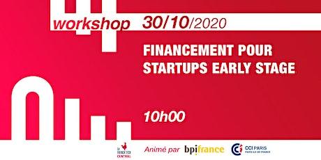Workshop #Financement @CCIPARIS & @Bpifrance billets