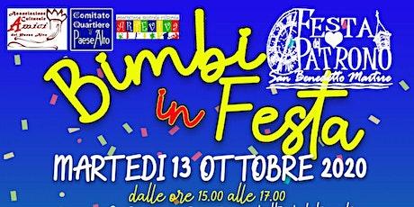 BIMBI IN FESTA (spettacolo per bambini, giocoleria, magia, ventriloquismo) biglietti