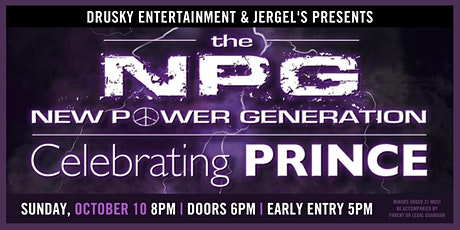 New Power Generation - Featuring the Music of Prince tickets