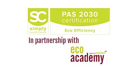 PAS 2030 Awareness Training (2 days) tickets