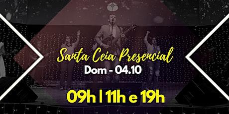 04/10 - DOMINGO PRESENCIAL ingressos