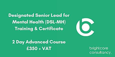 Designated Senior Lead for Mental Health Training & Certificate: Nottingham tickets