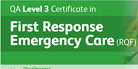 QA First Response Emergency Care Level 3