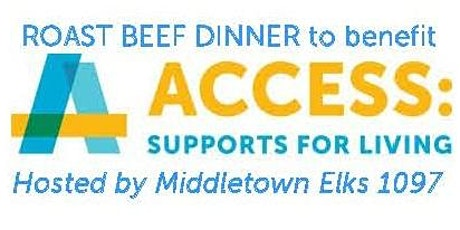 Roast Beef Dinner 2020 - Access: Supports for Living tickets