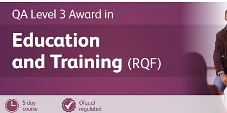 Level 3 Award in Education and Training tickets