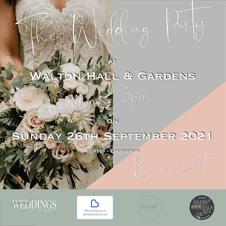 The Wedding Party at Walton Hall & Gardens image