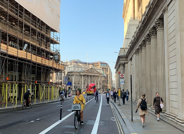 London Walking and Cycling Conference Webinar Series 2020 - Third Webinar image