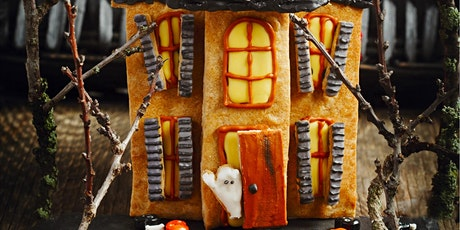 Parent & Child: Decorate a Haunted Gingerbread House (Full - Waitlist Only)