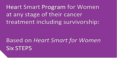 Virtual Heart Smart Program for Oncology tickets
