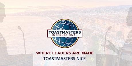 TOASTMASTERS NICE SOIRÉE ORATOIRE/PUBLIC SPEAKING billets