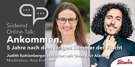 Südwind Online-Talk: Ankommen. 5 Jahre nach dem langen Sommer der Flucht Tickets