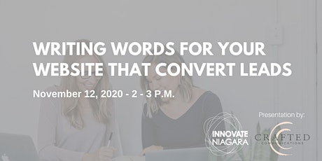Writing Words for Your Website That Convert Leads tickets