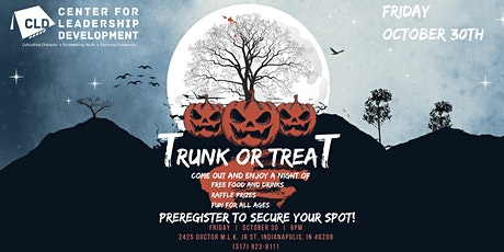 CLD Presents: TRUNK OR TREAT FESTIVAL tickets