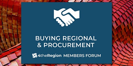 Procurement & Buying Regional Member Forum tickets