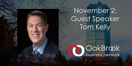 VIRTUAL Oak Brook Meeting November 2: Tom Kelly tickets