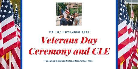 Veterans Day Ceremony and CLE