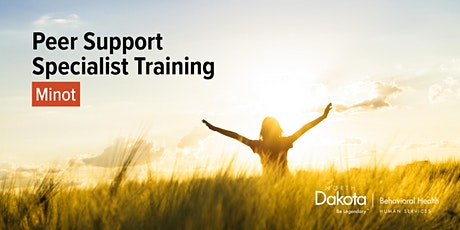 Peer Support Specialist Training in Minot tickets