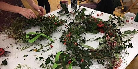 Wild Wreath Making Workshop, Online tickets