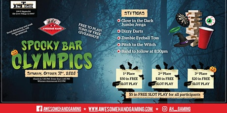 Spooky Bar Olympics tickets