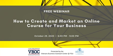 How to Create and Market an Online Course for Your Business Webinar tickets