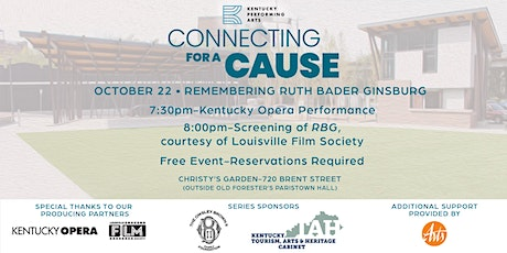 Connecting for a Cause: Remembering Ruth Bader Ginsburg tickets