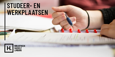 Individuele studie- en werkplekken Dusart tickets