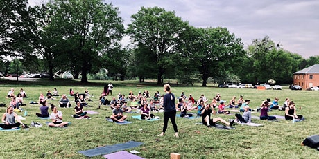 Yoga in the Park - Reservation Required