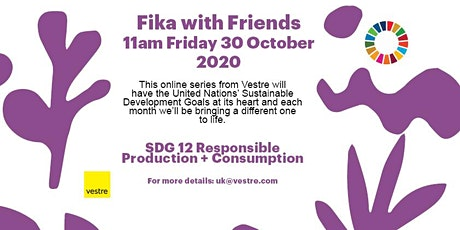 Fika with Friends from Vestre tickets