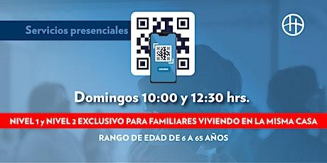 Reunión Horizonte - Domingo 10:00 boletos